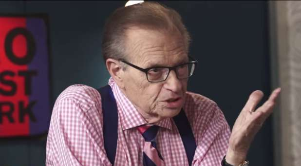 'Atheist' Larry King Needs a Prophetic Word From God Right Now