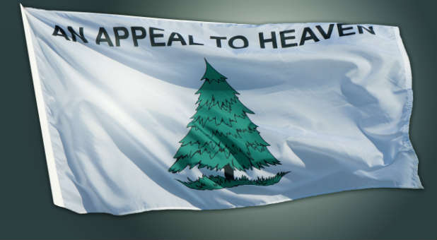 Atheists Wage All-Out War on Appeal to Heaven Flag