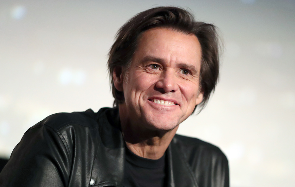 Actor Jim Carrey Preaches The Grace Of Jesus To Former Inmates!