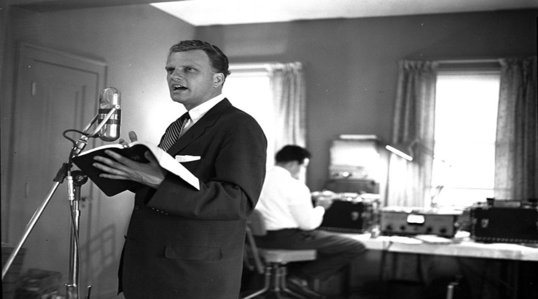 Billy Graham's Prophetic Warning from 1962