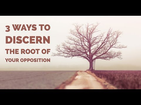 3 Ways to Discern the Root of Your Opposition | Spiritual Warfare Training
