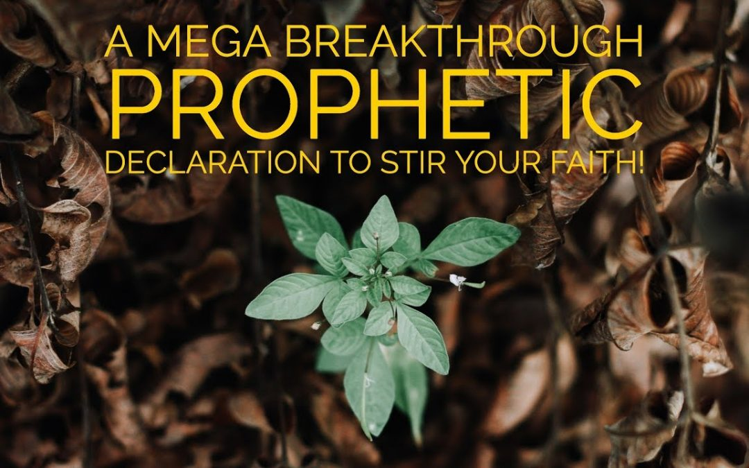 A Mega Breakthrough Prophetic Declaration to Stir Your Faith