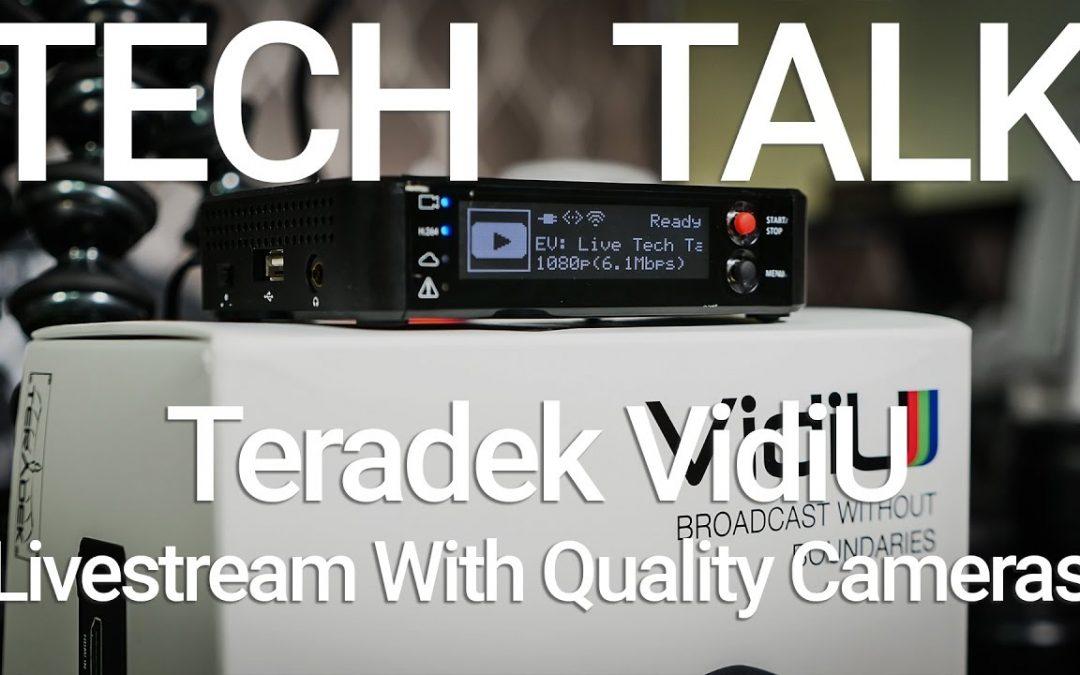 How to Livestream to Facebook and YouTube with Teradek VidiU