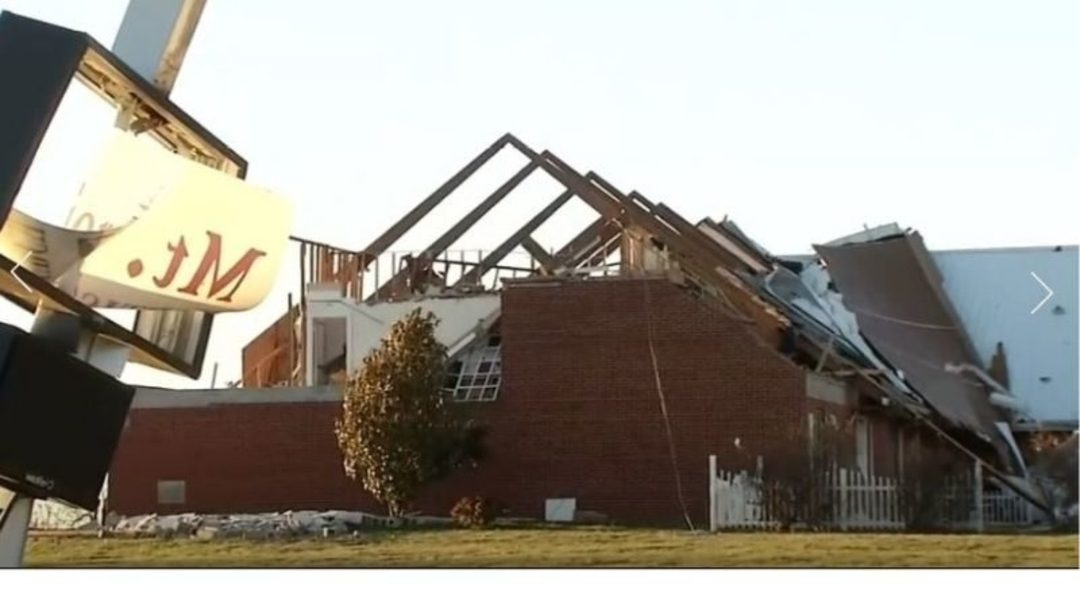 40 Kids Singing 'Jesus Loves Me' Survive Unharmed As Church Is Hit By A Tornado