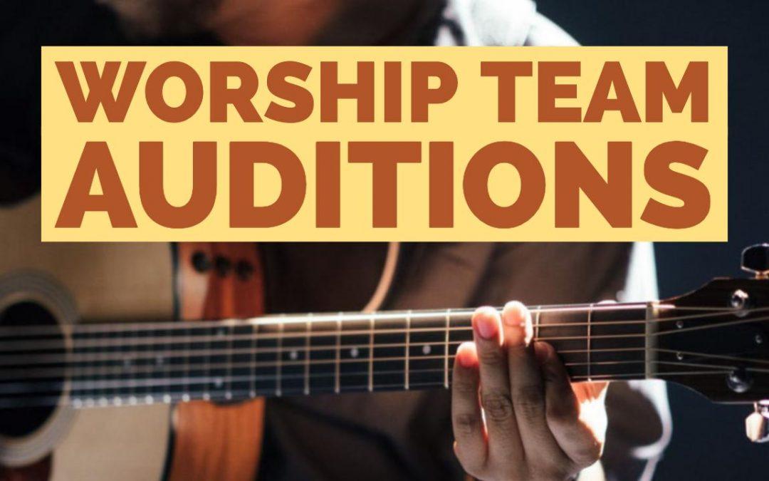Worship Team Auditions: Awakening House of Prayer