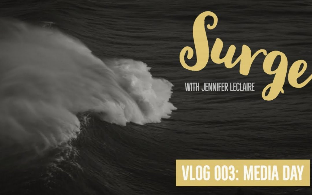Media Day: God Has Given You a Prophetic Voice | VLOG 003 with Jennifer LeClaire