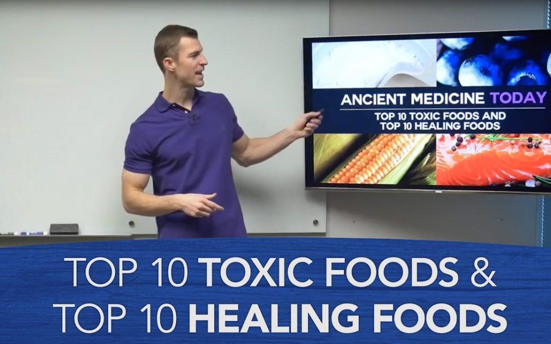 Top 10 Toxic Foods and Top 10 Healing Foods | Dr. Josh Axe