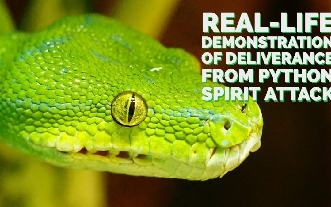 Real-Life Demonstration of Deliverance From a Python Spirit