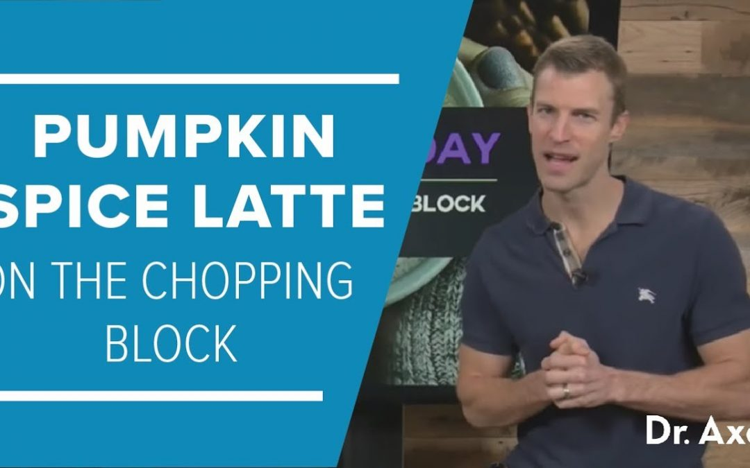 Pumpkin Spice Latte on the Chopping Block & Healthier Recipe