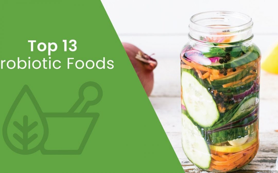 13 Probiotic Foods You Need in Your Diet | Dr. Josh Axe